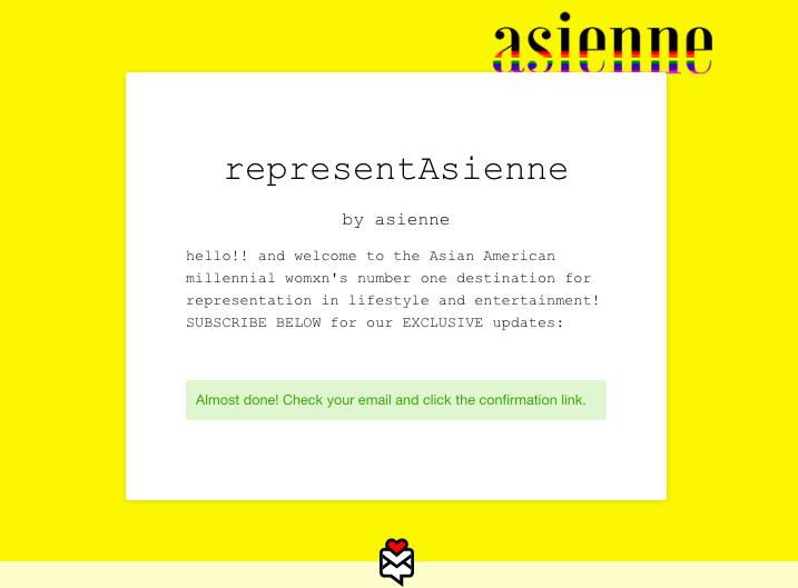 asienne-newsletter